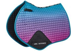 WeatherBeeta Prime Ombre Jump Saddle Pad Midnight Aurora