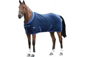 Weatherbeeta Double Bonded Fleece Standard Neck Ii - Navy/Royal Blue - Size: 7'0