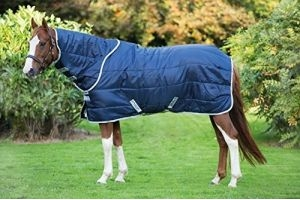 Horseware Amigo Insulator Combo Medium Stable Rug - Navy/Silver: 5ft6