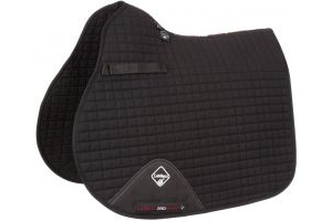 LeMieux ProSport GP/Jump Square Saddle Pad Black
