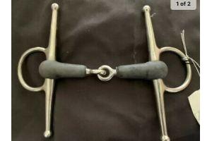 korsteel rubber full cheek snaffle /fulmer bit BNWT size 5