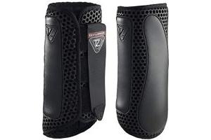 equilibrium Tri-Zone Impact Sports Boot -Black-Medium-Hind