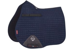 LeMieux ProSport Suede GP Square Saddle Pad Navy