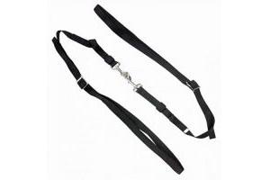 Kincade Elastic Nylon Side Reins (One Size) (Black)