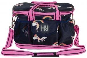Hy Unicorn Grooming Bag Navy/Pink