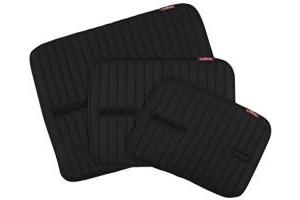 LeMieux Bandage Pads - Black, Medium/30 x 45 cm