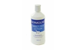 Dermoline Sweet Itch Solution 500ml - Soothing lotion for Horse/Pony