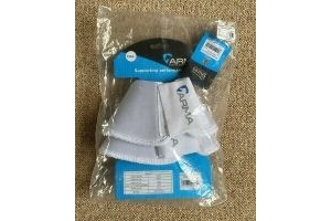 Shires Arma Neoprene Over Reach Boots - White - Full