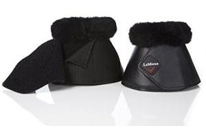 LeMieux Unisex's Lambskin Wrapround Over Reach Boots Pair Black, X-Large