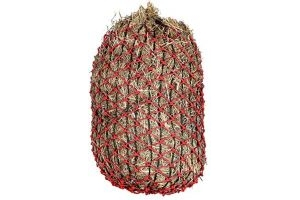 Elim-a-Net Unisex's Slow Feeding Hay Net Horse, red