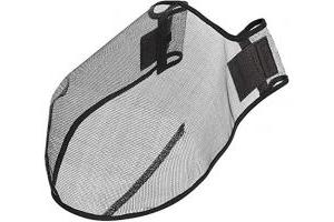 LeMieux Comfort Shield Filter Nose Net - Black, Medium