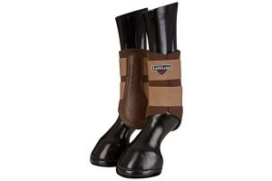 LeMieux Unisex's ProSport Grafter Brushing Boots Pair Caramel, Small