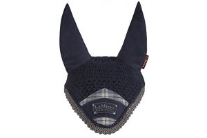 LeMieux Unisex's Heritage Fly Hood, Navy, Medium