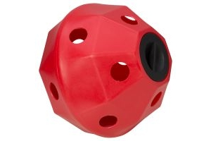 ProStable Hayball Small Holes Red