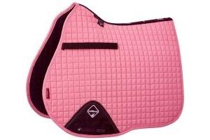 LeMieux ProSport Suede GP/Jump Square Saddle Pad Blush Pink