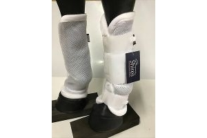 Shires Airflow turnout socks,bug proof, Cob Size. 1 pair. New (443B)