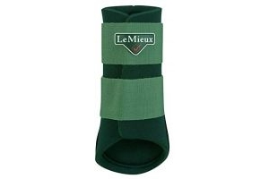LeMieux Unisex's Grafter Brushing Boot Hunter Green Horse, Large