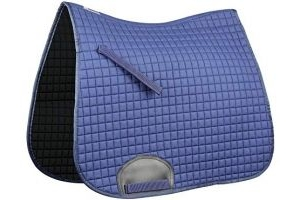 Weatherbeeta Supreme Dressage Saddle Pad (Full) (Navy)