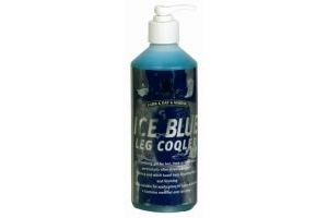 Carr & Day & Martin Ice Blue Leg Cooler Gel 500ml - Fast acting gel with camphor and menthol cools and soothes hot tired or filled legs.