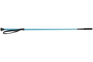 Shires Thread Stem Whip Bright Blue