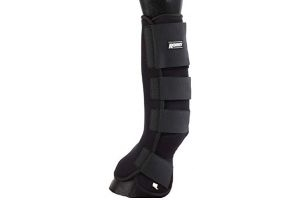 Roma Neoprene Leg Wraps (Pony/Cob) (Black)