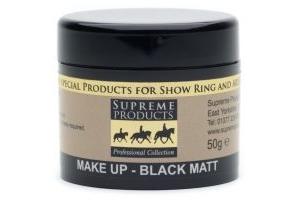 Supreme Products Professional Matt Make-Up 50g: Black