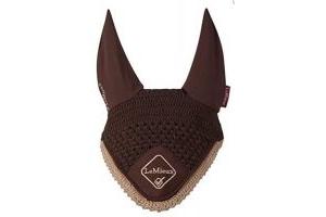 LeMieux Classic Fly Hood-Brown-Medium