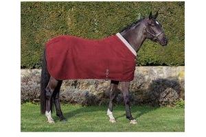 LeMieux Unisex Four Seasons Horse Rug, Burgundy, 6'9