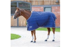 Shires Tempest Original 200 Medium Weight Standard Neck Stable Rug Navy/Grey