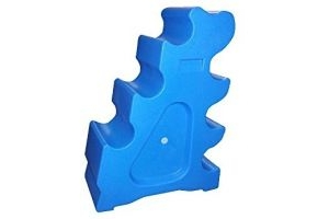 Classic Showjumps Pro-Jump Sloping Block (One Size) (Blue)