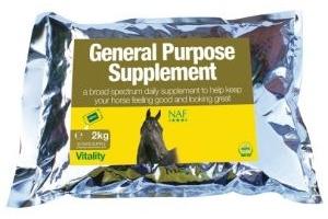 NAF General Purpose Horse Supplement  2kg refill