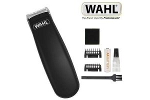Wahl Cordless Pocket Pro Battery Operated Dog Trimmer Set Black 9962-2117