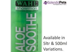500ml Wahl Showman Aloe Sooth Shampoo Dog/ Horse Grooming