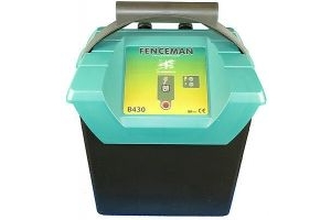 Electric Fence Fenceman B430 9v Energiser- High & Low Power Output, FREE Battery
