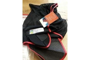 EQUILIBRIUM FIELD RELIEF MAX FLY MASK WITH EARS AND NOSE BRAND NEW Size Small