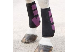 Shires ARMA Breathable Sports Exercise Boots Pony Plum