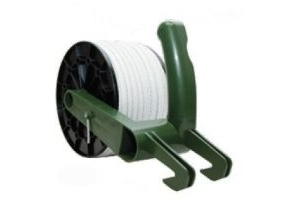 Fenceman Reel Plastic Olive With 12.5mm x 300 Tape