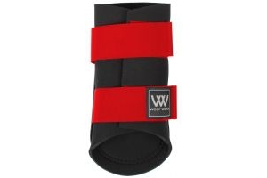 Woof Wear Club Brushing Boots Royal Red