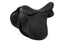 Wintec Lite Wide All Purpose D-lux Saddle With Short Points and Cair - Black - 43cm