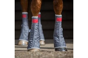 Equilibrium Therapy Magnetic Chaps - Grey - Large - Horse Equestrian