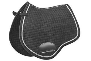 Weatherbeeta Prolux All Purpose Saddle Pad (Full) (Charcoal/White)