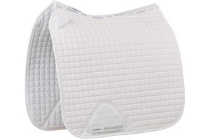 WeatherBeeta Prime Dressage Saddle Pad White