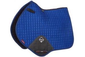 LeMieux ProSport Suede Close Contact Square Saddle Pad Benetton Blue