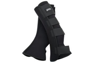 Roma Neoprene leg Wraps(Black, Pony/Cob)