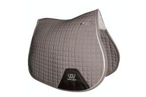 Woof Wear Contour GP Saddle Pad Brushed Steel
