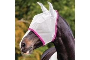 Horseware Amigo Fly Mask Silver/Purple