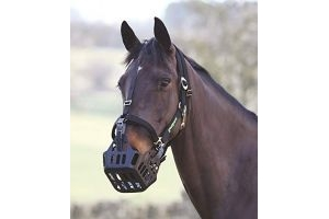 Shires Greenguard Headcollar: Black: Full