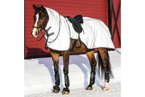 Horseware Rambo Reflective Night Rider Rug Silver/Black