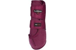 LeMieux Unisex's ProSport Support Boots Pair, Plum, Large