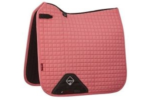 LeMieux Unisex's ProSport Suede Dressage Square Saddlepad, Blush Pink, Large